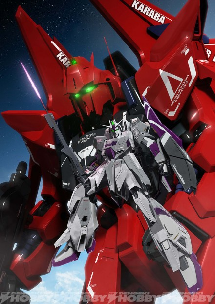 「Competition of NEW GUNDAM–RED or WHITE-」キービジュアル