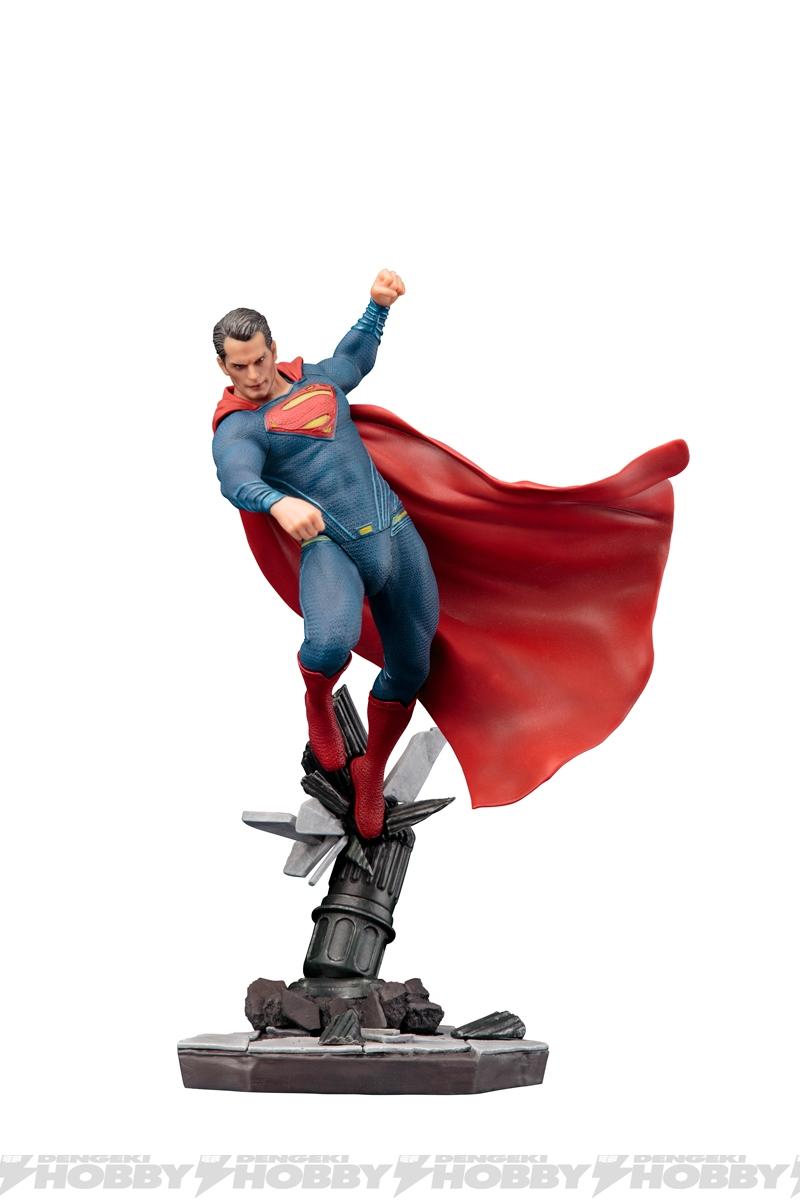 artfx スーパーマン dawn of justice 参戦 舞い降りる鋼鉄の男