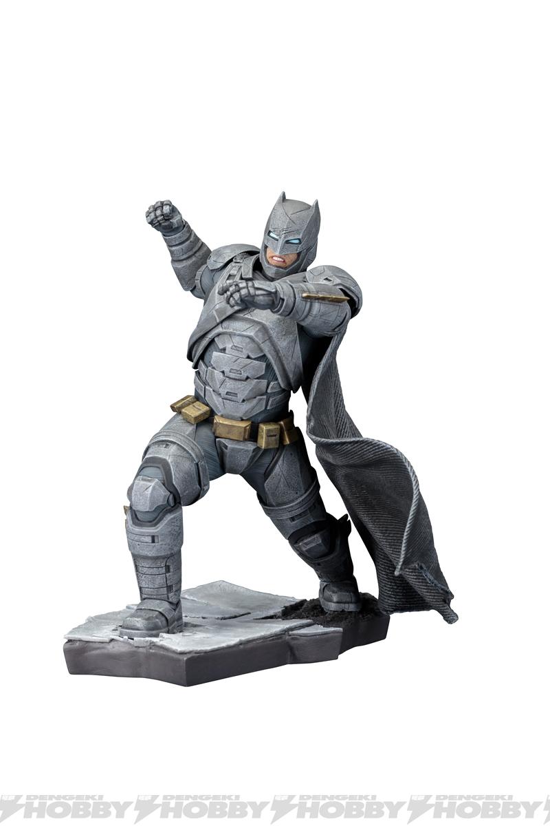 artfx バットマン dawn of justice 登場 蘇る闇の騎士 コトブキヤの