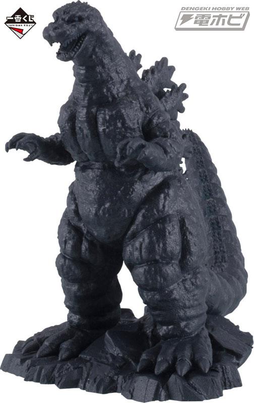 ●F賞 ミニフィギュアコレクション(全6種) 「ゴジラ」や「キングギドラ」など、人気怪獣たちのミニフィギュア 。細部にまでこだわった造型です。高さ約5cm。