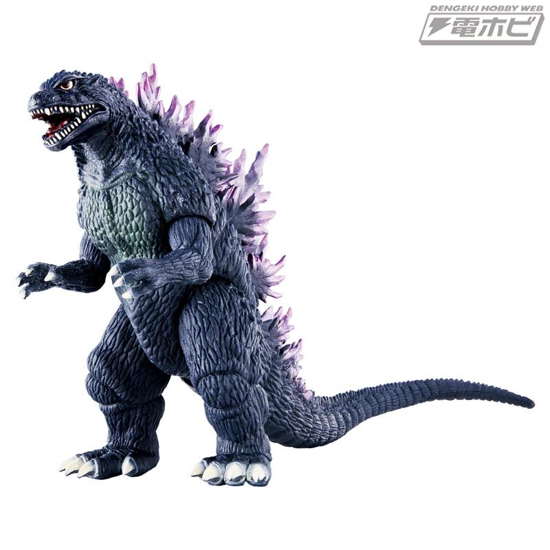 『シン・ゴジラ』の盛り上がりに合わせて人気怪獣をリニューアルして商品化! 『ゴジラ2000 ミレニアム』版ゴジラが登場!