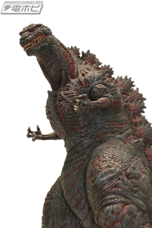 『シン・ゴジラ』巨大不明生物から第4形態を統一スケールで立体化!「東宝怪獣コレクション」シリーズより4体セットで発売!!
