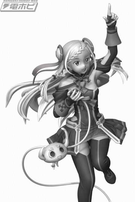 【周边】剧场版Ver.桐人完成品 & 歌姬尤娜3D原型公开