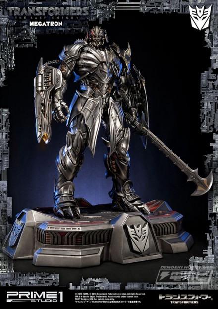 489962-1 『トランスフォーマー 最後の騎士王』の「メガトロン」を全高約76cmで立体化!