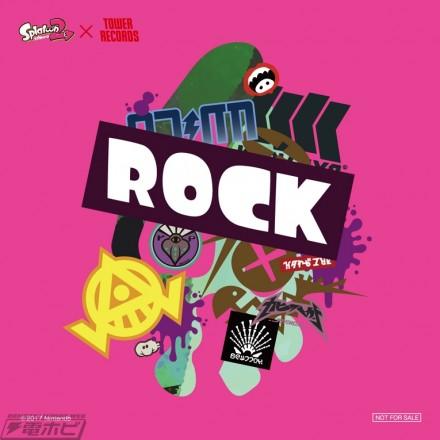 ▲「ROCK」ステッカー