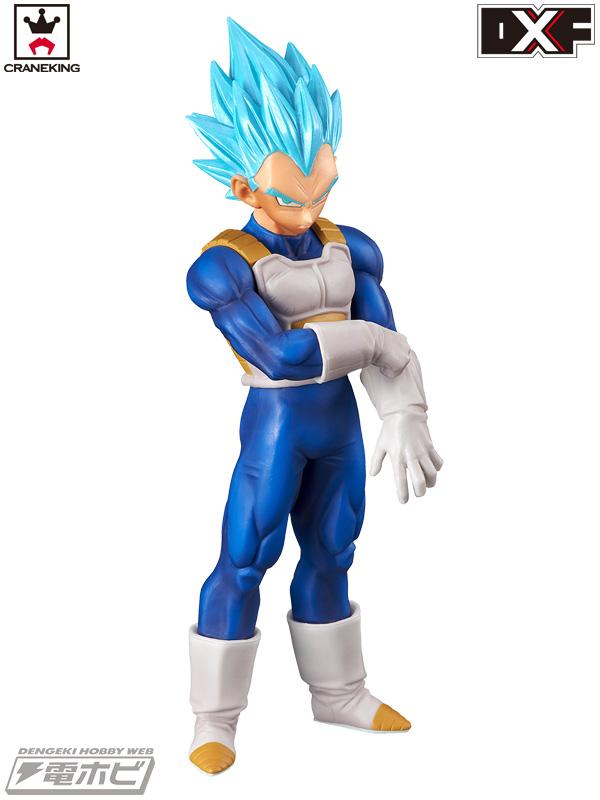 「超サイヤ人ブルー」とも呼ばれるベジータ単体での最強形態。孫悟空に続いてベジータも最大覚醒!