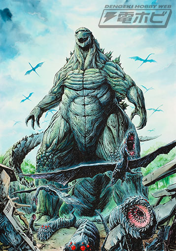 【 映画】次のゴジラは2万年後の地球「怪獣惑星」が舞台でシビアな未来を描く 公開記念で初代から「シンゴジラ」まで歴代GODZILLA展もYouTube動画>10本 ->画像>123枚