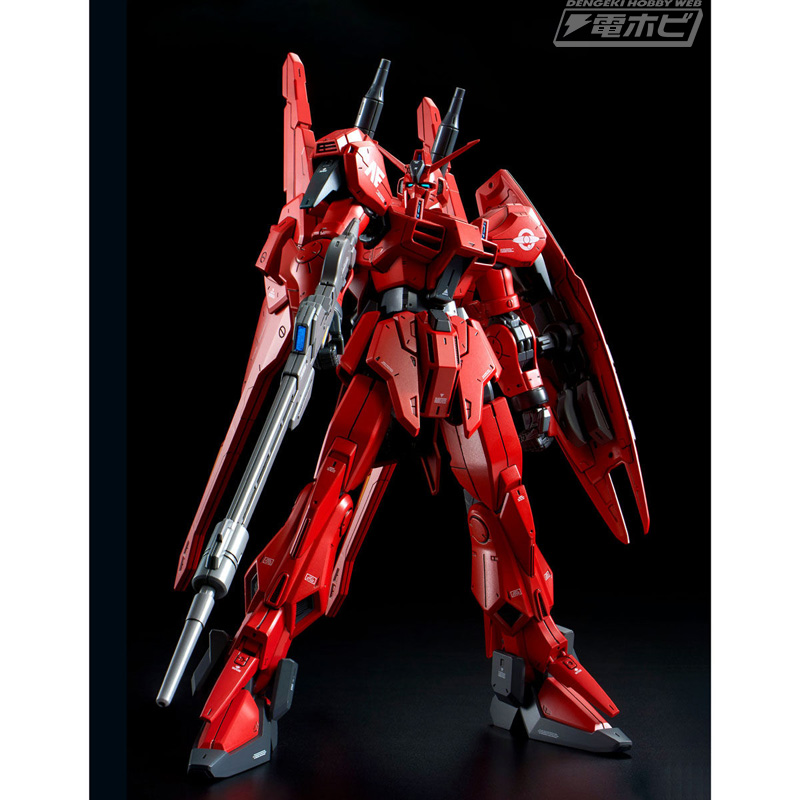 ガンプラ「RE/100 ガンダムMk-III 8号機」が登場!インパクトのある赤い専用カラーを成型色で再現!