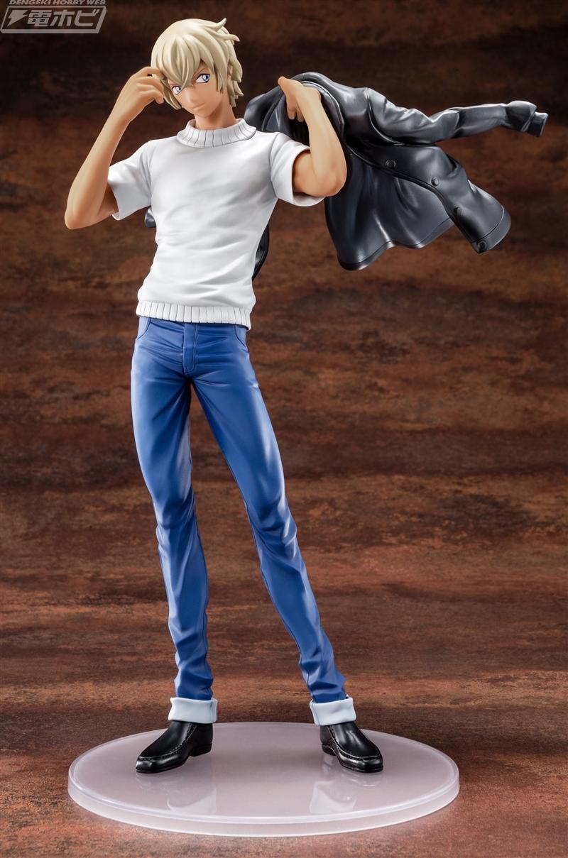 トムス・エンタテインメントより、TVアニメ『名探偵コナン』の人気キャラクター、安室 透のフィギュアが登場! 劇場版最新作『名探偵コナン ゼロの執行人 (しっこうに