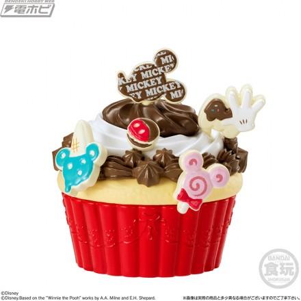 ▲ミッキーのチョコレートケーキセット