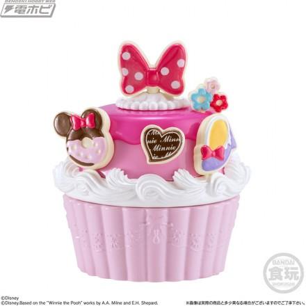 ▲ミニーのいちごムースケーキセット