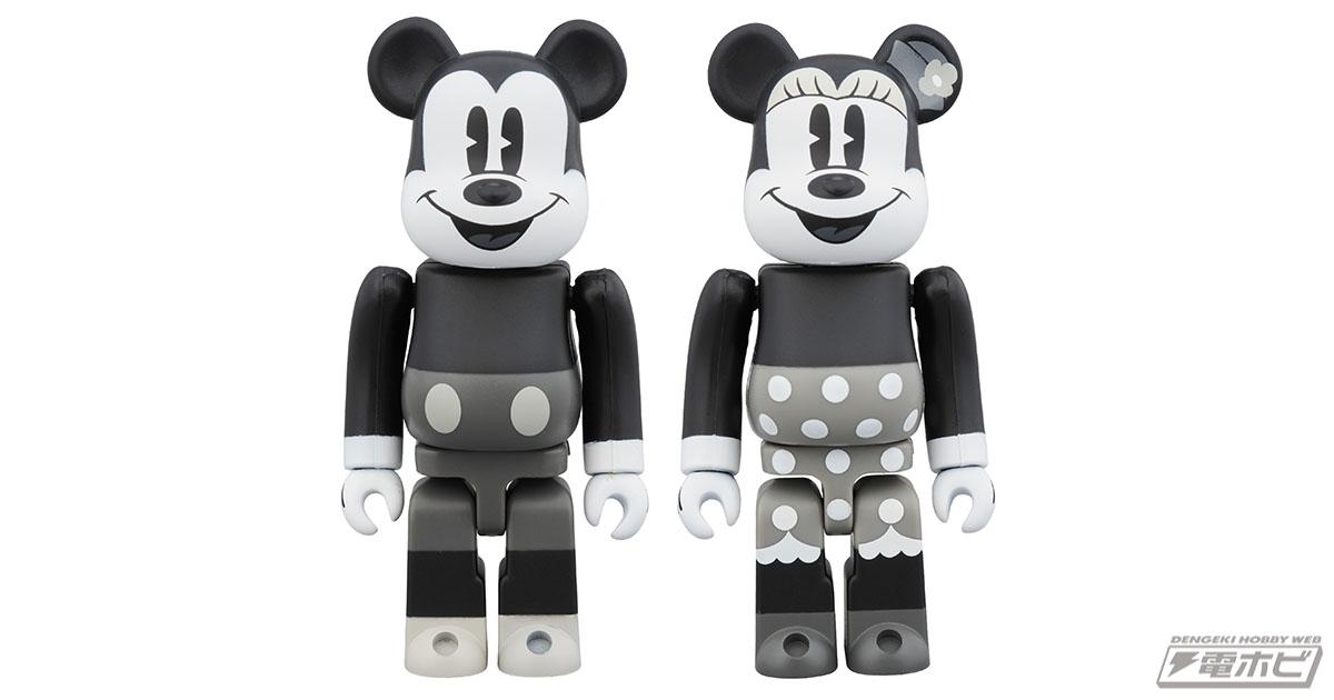 BearBrick BeRBrick Medicom 400/% Action Figure Toy Teddy Bear Disney mickey mouse