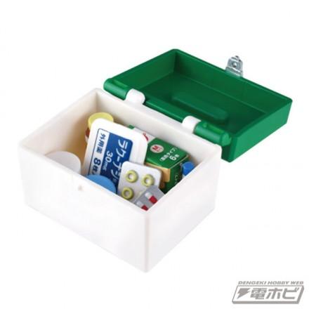 ▲各お薬は救急箱の中に収納できます。
