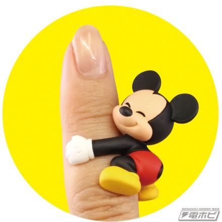 ▲全5種。あなたの指にギュッと抱き着きます。