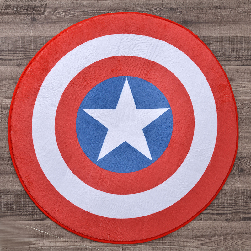 キャップの信念の象徴でもあるヴィブラニウム製の星条旗シールドをモチーフとしたデザイン。MCU最新作『アベンジャーズ/エンドゲーム』ではこのシールドを再び手に