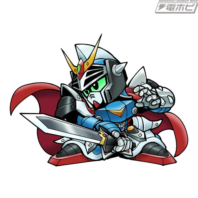 「騎士00クアンタ」など全イラスト描き下ろし!「新約SDガンダム外伝 創世超竜譚 蛮界の騎士団」が登場!